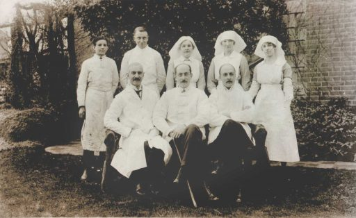 Original staff of Beech House